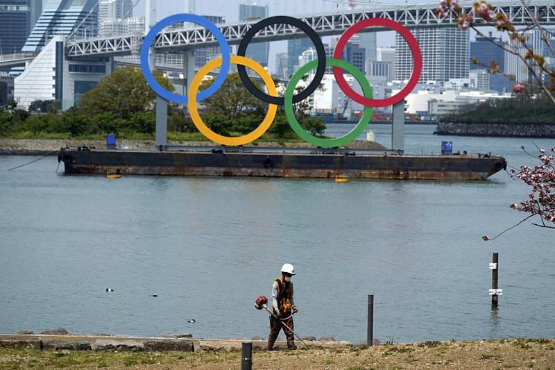 Olympijské kruhy. Ilustrační foto