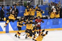 Němci senzačně zvítězili proti Kanadě.