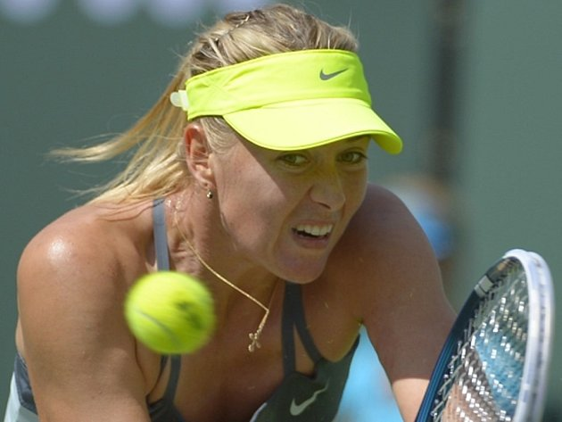 Maria Šarapovová získala v Indian Wells první letošní titul.