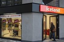 Prodejna společnosti Iceland v Praze-Malešicích