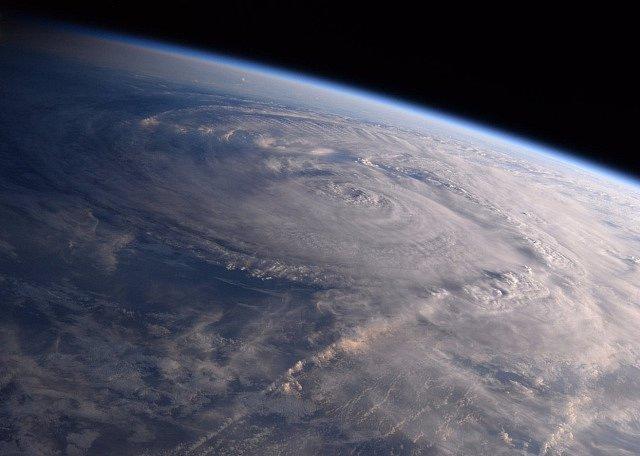 Hurikán z vesmíru