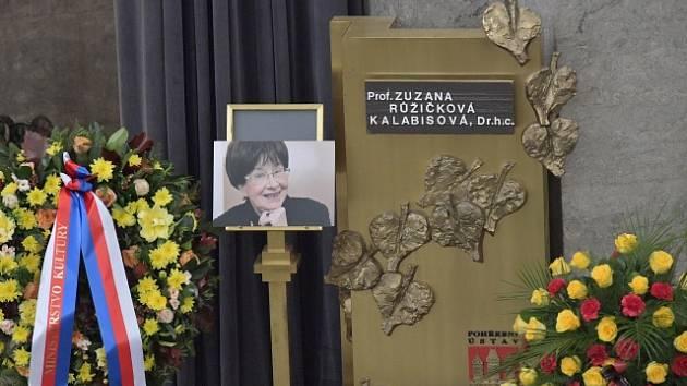 Rozloučení s cembalistkou Zuzanou Růžičkovou.