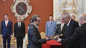 Prezident Zeman jmenoval nové soudce