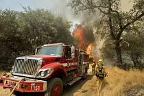 Rozsáhlé požáry v Americe