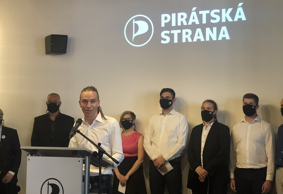 Piráti zahájili předvolební kampaň. Hovoří předseda strany Ivan Bartoš.