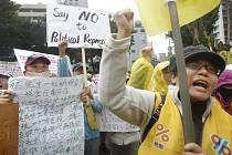 Protesty žlutých vest na Tchaj-wanu