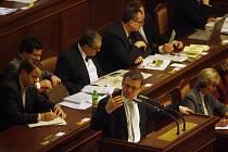 Mimořádná schůze sněmovny o Lisabonské smlouvě: Hovoří Lubomír Zaorálek (ČSSD)