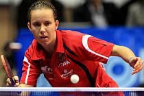 Iveta Vacenovská na mistrovství Evropy.