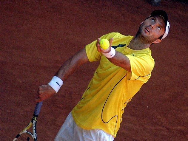 Kazašský tenista Jurij Ščukin.