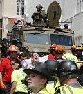Nepokoje ve Virginii v USA