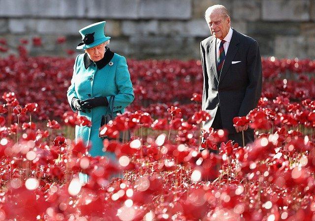 Vévoda Filip a Alžběta II.