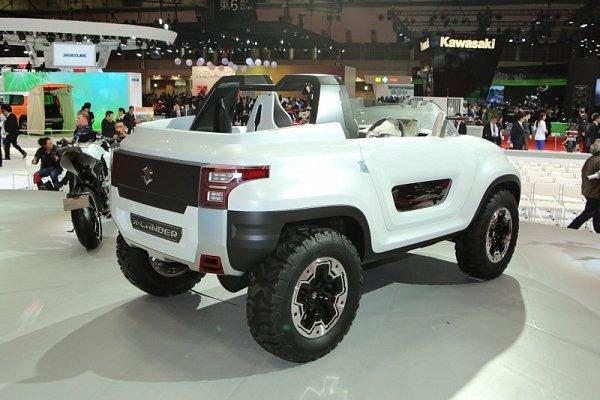 Suzuki X-Lander.