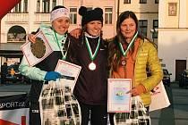 Tereza Zimovjanová na stupních vítězů