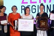 Zleva Miluše Horská, Jana Mračková Vildumetzová, vítězka Marcela Dvořáčková a Gordana Turuk