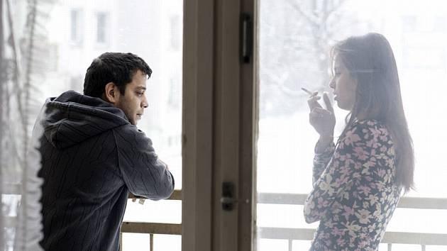 KLAUDIA DUDOVÁ a David Ištok, romští neherci, ztvárnili ve filmu Cesta ven dvě hlavní role.