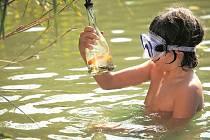 Vše se změní v okamžiku, kdy objeví láhev se zlatou rybičkou.