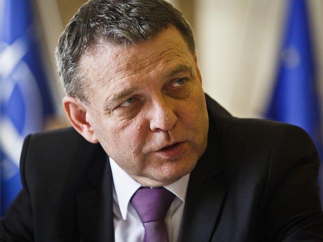 Ministr zahraničí Lubomír Zaorálek