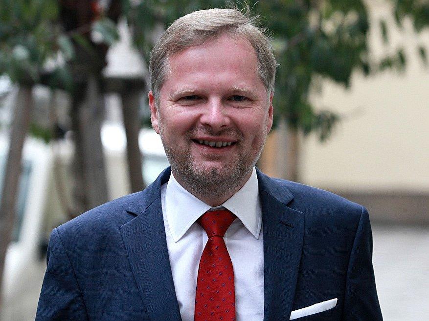 Čekání na výsledky krajských a senátních voleb ve štábu ODS.