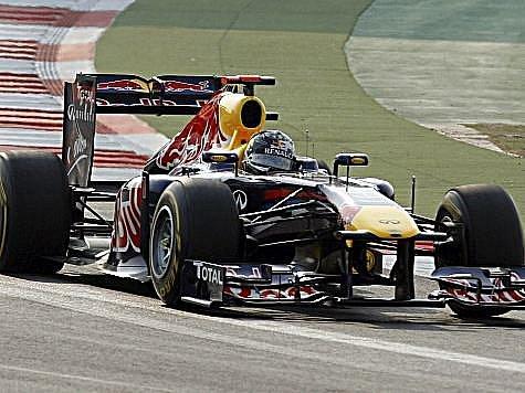 Sebastian Vettel potvrdil svoji nadvládu ve formuli 1.