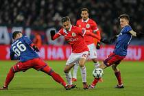 Benfica Lisabon v zápase proti CSKA Moskva