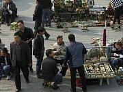 Oblast Sin-ťiang, kde žijí Ujgurové vyznávající islám.