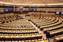 Evropský parlament v Bruselu - ilustrační foto