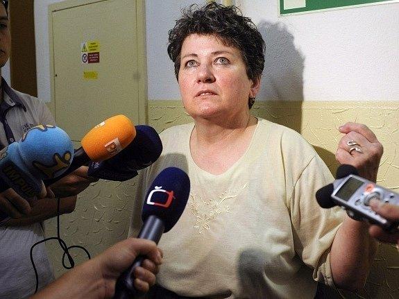 Bývalá pokladní České pošty Helena Baudyšová