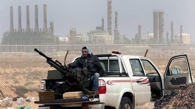 Boje v Libyi - Ilustrační foto