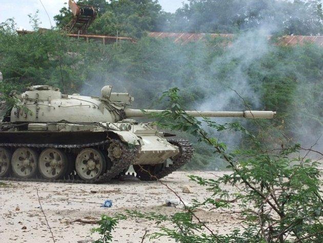 Boje v Somálsku. Ilustrační foto