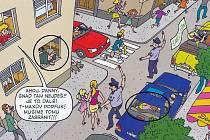 Souložící pár na zadní sedačce v autě či sex v okně objevil v dětském časopisu Čtyřlístek čirou náhodou Martin Šinkovský.