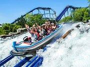 Europa Park - atrakce Water Rollercoaster Poseidon