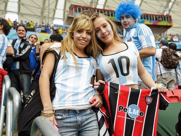 Argentina - Nigérie: Fanynky