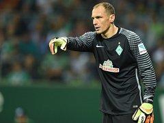 Jaroslav Drobný v dresu Werderu Brémy