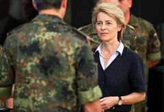 Německá ministryně obrany Ursula von der Leyenová