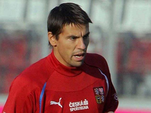 Český reprezentant Milan Baroš.