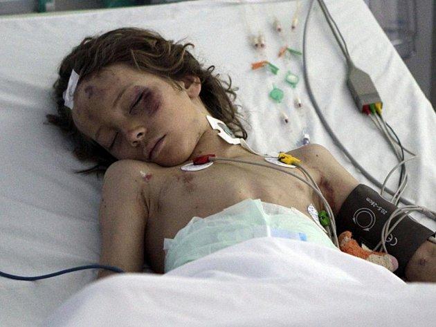 Devítiletý nizozemský chlapec Ruben, který jako jediný přežil havárii libyjského letadla se 104 lidmi na palubě.