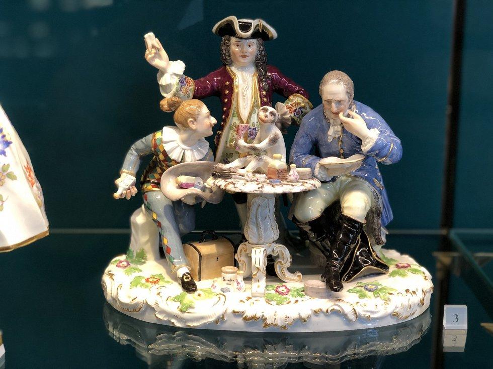 Na návštěvě ve světoznámé porcelánce v německé Míšni.
