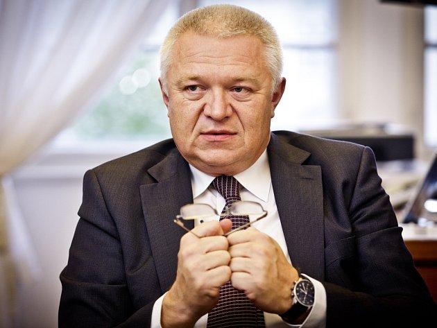 Předseda poslaneckého klubu ANO Jaroslav Faltýnek.