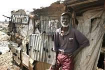 Chudé předměstí keňské Nairobi. Ilustrační foto.