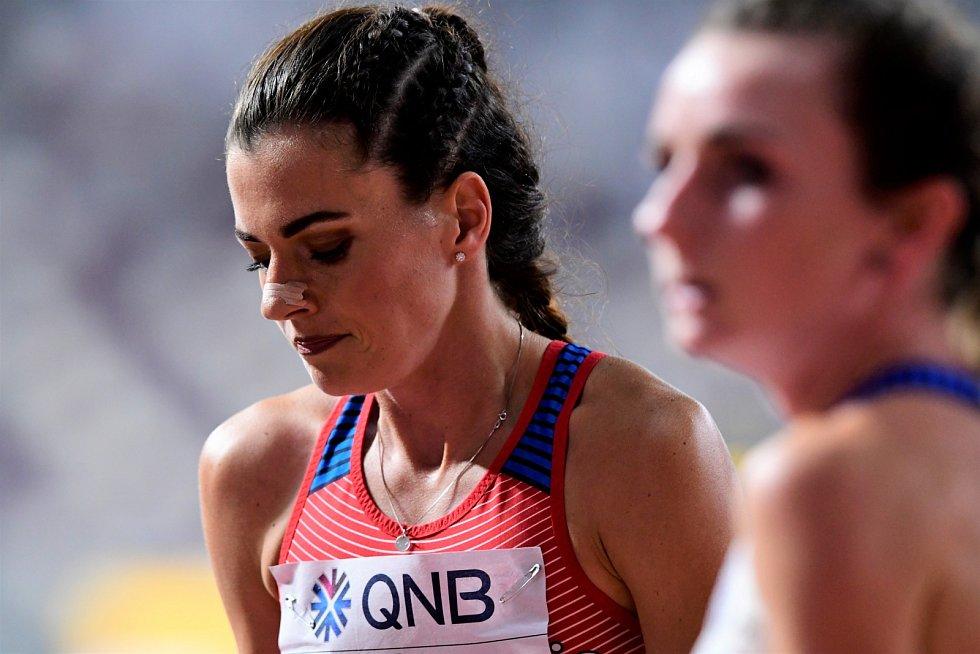 Kristiina Mäki v semifinále na 1500 metrů