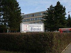 Nemocnice v Blansku. Ilustrační foto