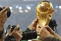 Trofej pro vítěze fotbalového mistrovství světa.