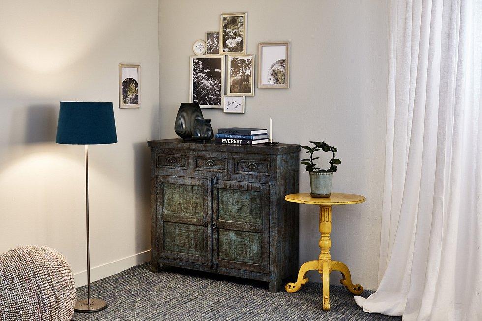 Patina dodá nábytku a doplňkům autentičnost a historizující nádech