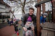 Mateřská škola Bambíno, 12. února v Praze. Ředitel školky a spoluzakladatel Tomáš Trnka poskytl rozhovor Deníku.