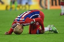 Arjen Robben a jeho další zranění