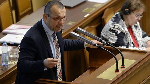 Poslanec Jaroslav Foldyna (ČSSD).