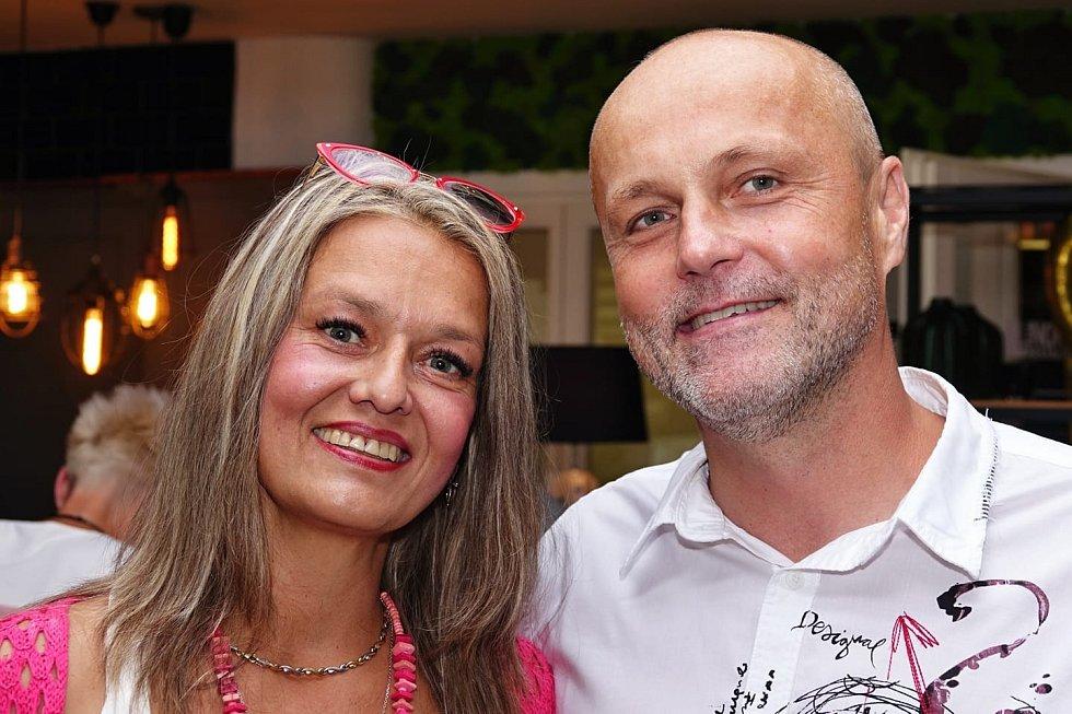 Zdeněk Orct s manželkou