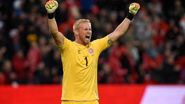 Kasper Schmeichel, brankář Dánska a Leicesteru