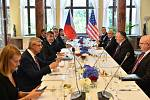 Schůzky se účastnili i čeští ministři
