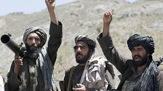 Afghánské lidi chodit